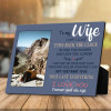 to my wife anniversary gift for wife custom photo plaque