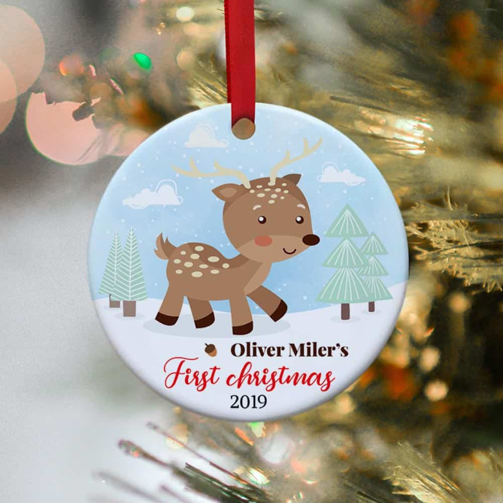 Baby Stats Ornament Baby/'s First Christmas New Baby Christmas Ornament Personalized Christmas Ornament Baby/'s First Christmas Ornament