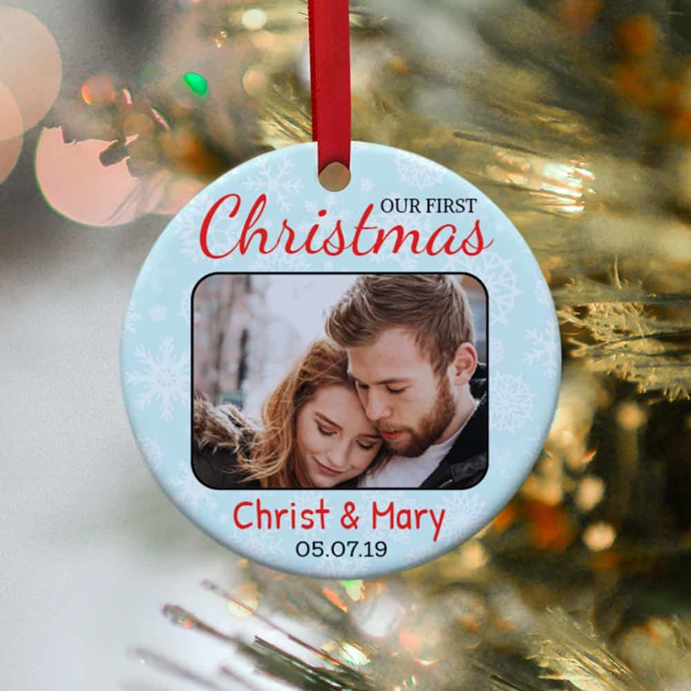 Our First Christmas Personalized Ornament
