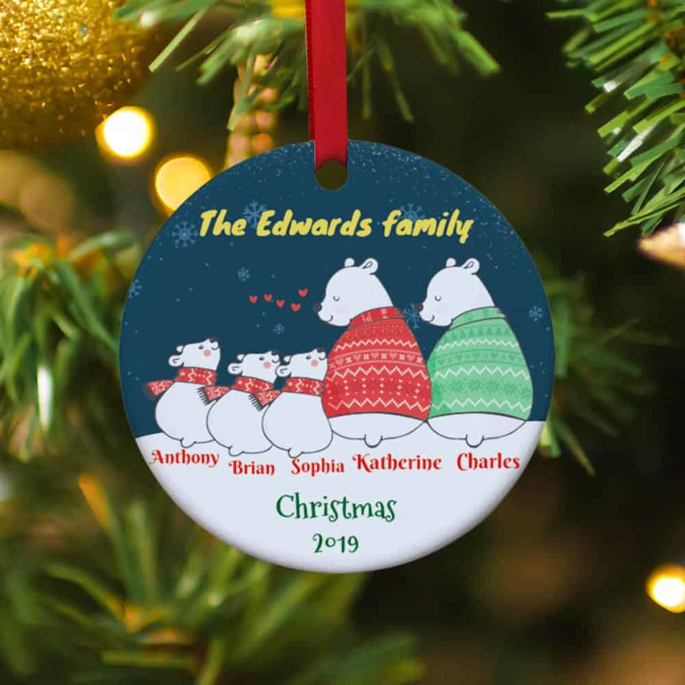 Custom  Persomnalized Christmas Ornaments