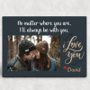 I'll Always Be With You Desktop Photo Plaque