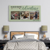 You Are My Greatest Adventure Photo Canvas above a bed