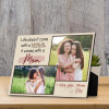 """""""Life doesn't come with a manual, it comes with a mom"""" plaque"""