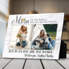 To the world you may be one person custom photo plaque
