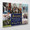 Good Friends Are Like Stars, You Don't Always See Them But You Know They're Always There - Custom Photo Canvas Print - Side View