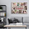 My Favorite People Call Me Grandma - Photo Collage Canvas Print On The Wall