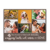 This Home Is Filled With Kisses Wagging Tails Wet Noses And Love Pet PhotoCollage Canvas Print