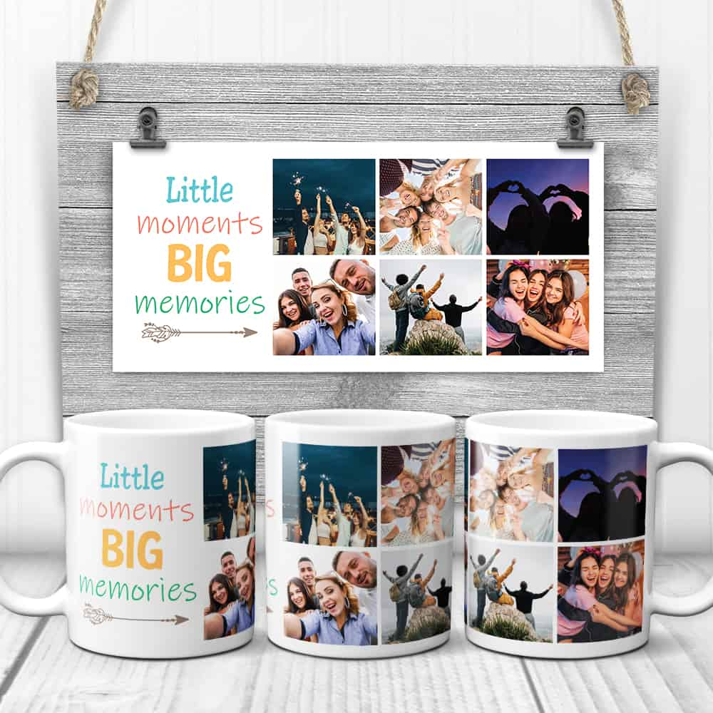little moments big memories mug