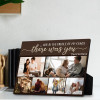 and in the middle of my chaos there was you custom photo desktop plaque