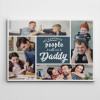 my favorite people call me daddy photo collage canvas - gift idea for dad