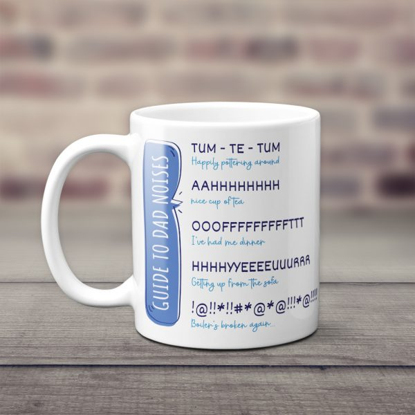 Guide To Dad Noises Funny Mug