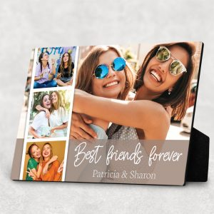 best friend forever custom photo desktop plaque
