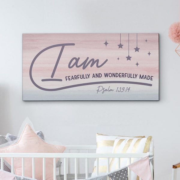 I Am Fearfully And Wonderfully Made Canvas Print