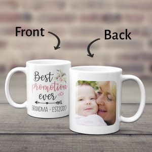 Best Promotion Ever Custom Grandma Photo Mug