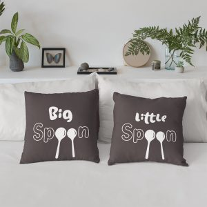 Big Spoon Little Spoon - Spooning Pillow Set