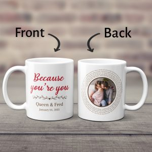 Spiral Song Lyrics Mug with Photo