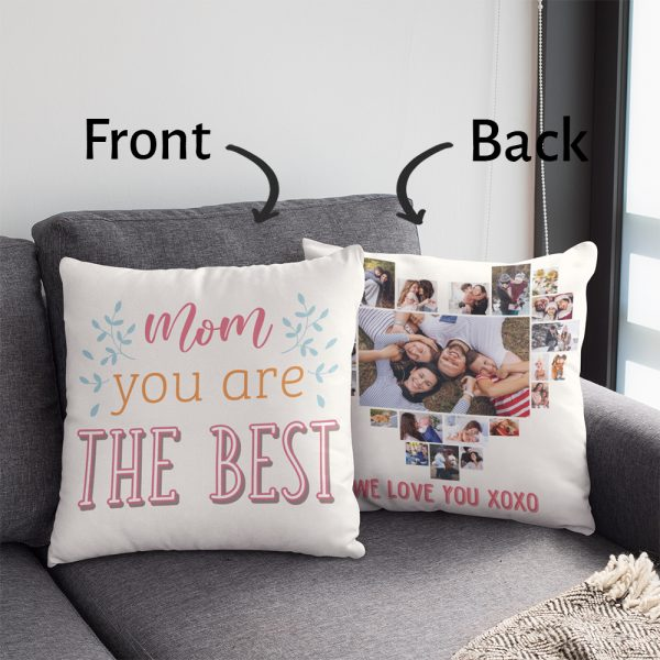 mom you are the best photo collage pillow - gift for mom