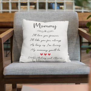 Mommy Custom Quote And Name Pillow