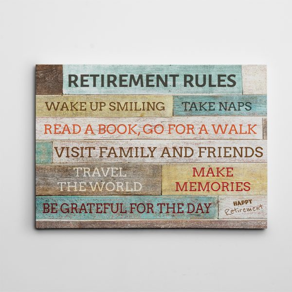 Personalized Retirement Canvas Retirement Rules