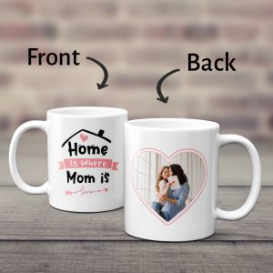 Home Is Where Mom Is Photo Collage Mug