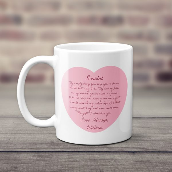 By Simply Being Yourself, You've Shown Me Custom Mug