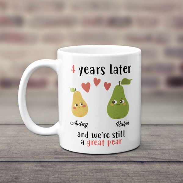 4 Years Later And We're Still A Great Pear Coffee Mug