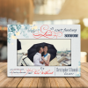 Love Isn't Finding Someone You Can Live With It's Finding Someone You Can't Live Without 4 years Anniversary Desktop Photo Plaque
