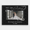 You Are My Everything Custom Photo Canvas Print