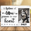 A Lifetime Of Love Forever In Our Hearts Desktop Photo Plaque