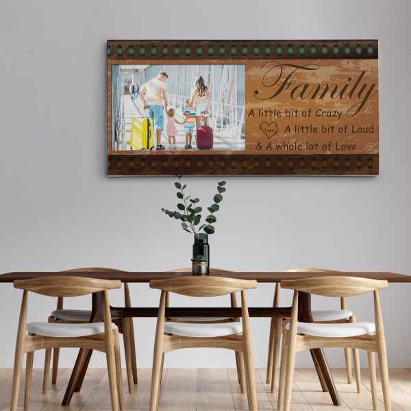 family pictures on canvas print