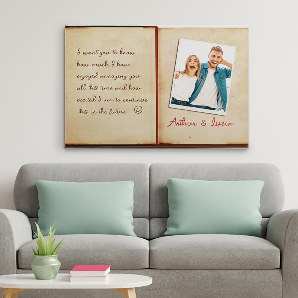 I Want You To Know How Much I Have Enjoyed Annoying You Custom Canvas Print