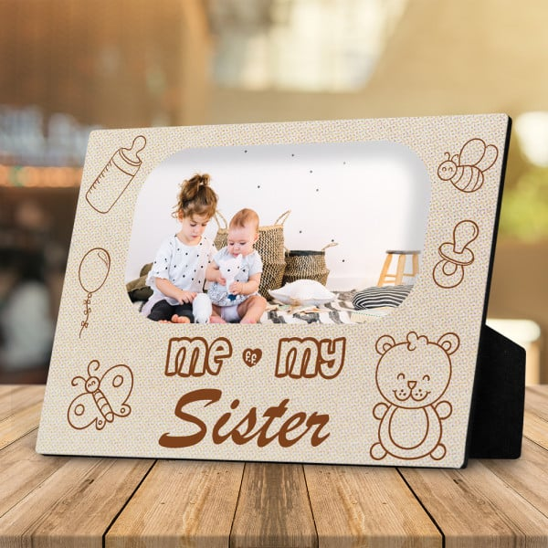 Baby And Big Sister Big Brother Plaque - Me and My Sister