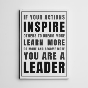 If Your Actions Inspire Others Canvas Print