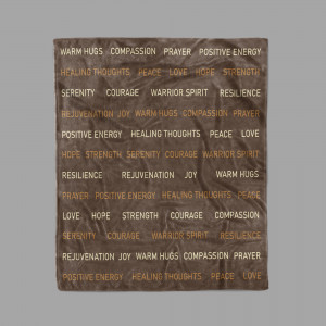 Compassion Blanket – Love And Support Gift