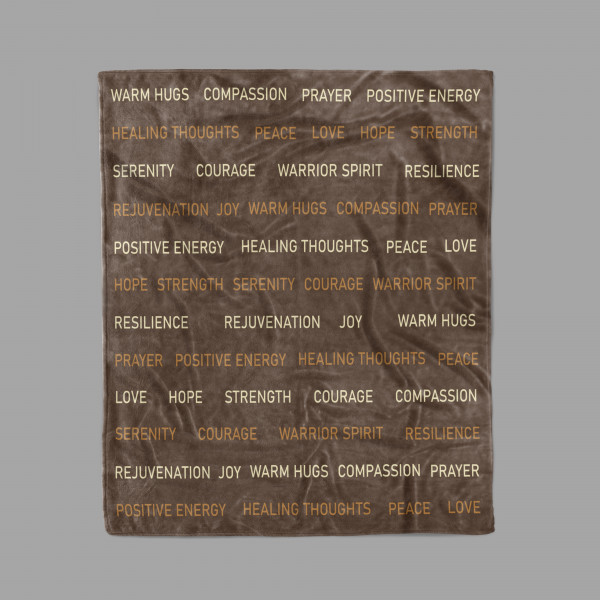 Compassion Blanket - Love And Support Gift