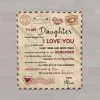 To My Daughter Never Forget That I Love You Custom Letter Blanket