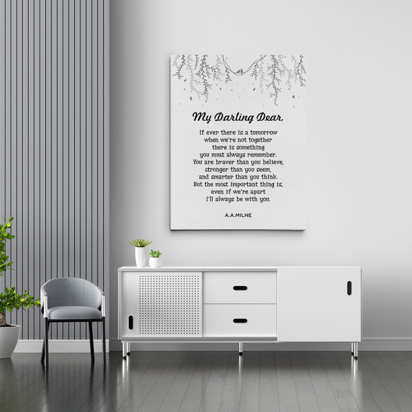 If Ever There Is A Tomorrow Canvas Print