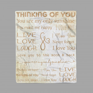 I Love You – Thinking of You Blanket